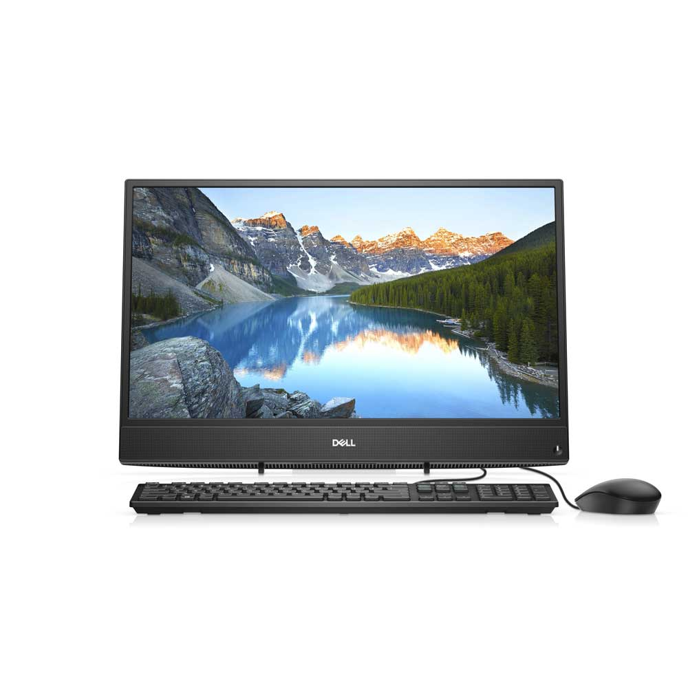 "DELL INSPIRON 3277-B13GW41C i3-7130U 4GB 1TB 21.5"" NONTOUCH WIN10 SIYAH ALL IN ONE PC"
