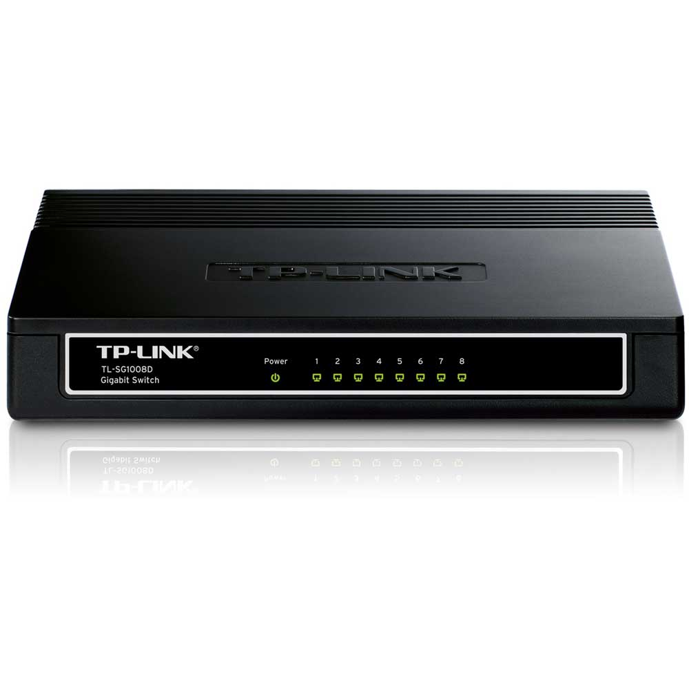 TP-LINK TL-SG1008D 8 PORT 10/100/1000 YONETILEMEZ DESKTOP SWITCH