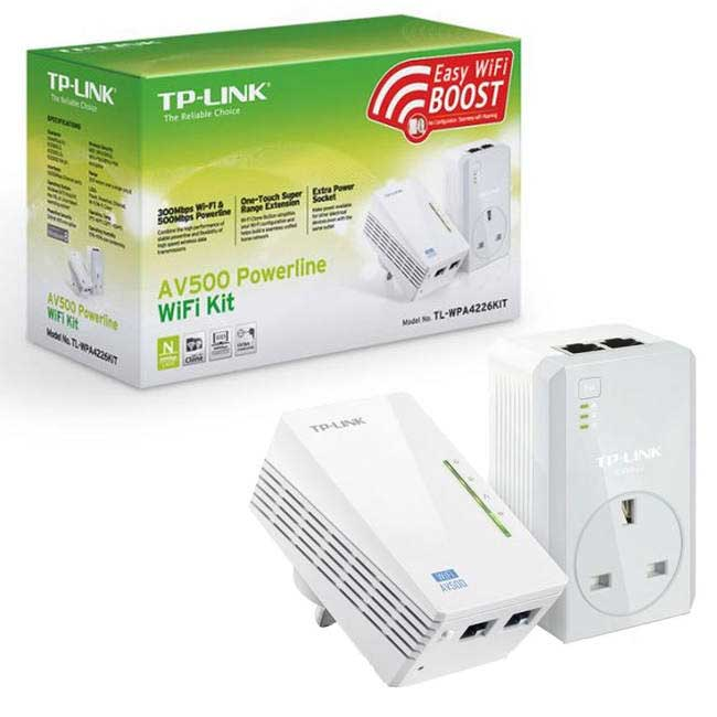 TP-LINK TL-WPA4226KIT 300MBPS 2PORT 2.4GHz POWERLINE ADAPTÖR
