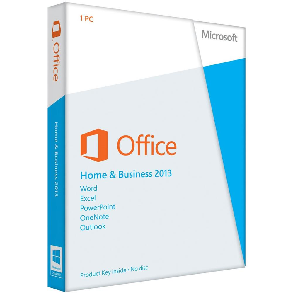 MICROSOFT 2013 OFFICE HOME&BUSINESS KUTU TR T5D-01781