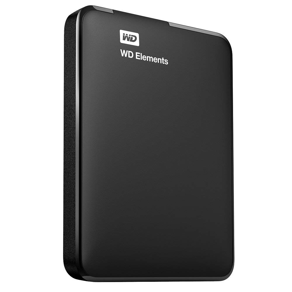 "W.DIGITAL ELEMENTS 1TB USB3.0 2.5"" SIYAH HARICI HDD WDBUZG0010BBK"