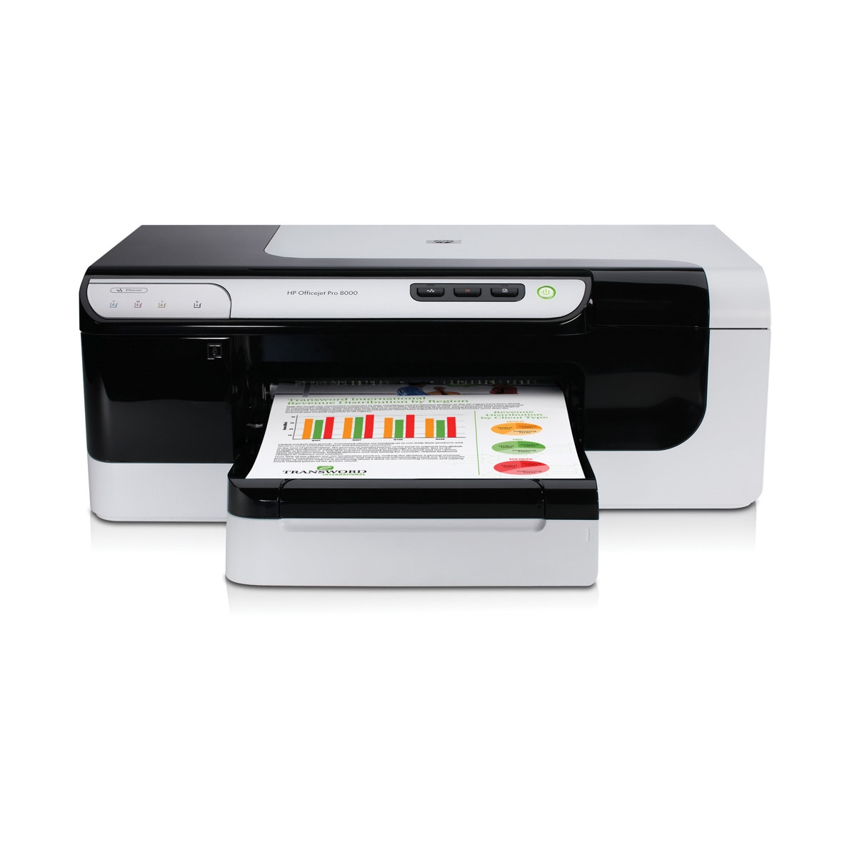 HP OFFICEJET PRO 8000 CB092A INKJET USB/ETHERNET A4