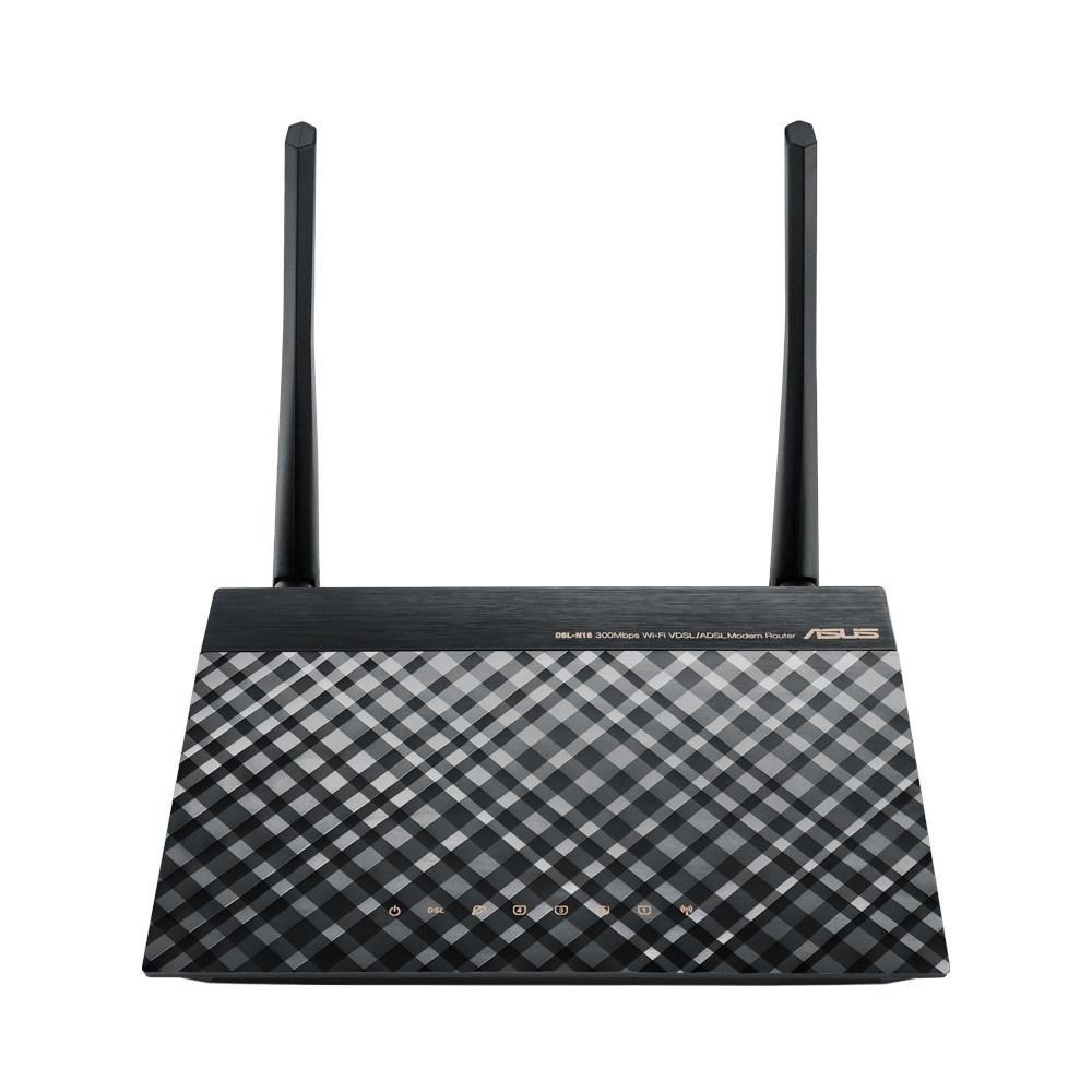 ASUS DSL-N16 300MBPS 4 PORT 2 ANTEN 3DBI KABLOSUZ VDSL2/ADSL2+ MODEM ROUTER