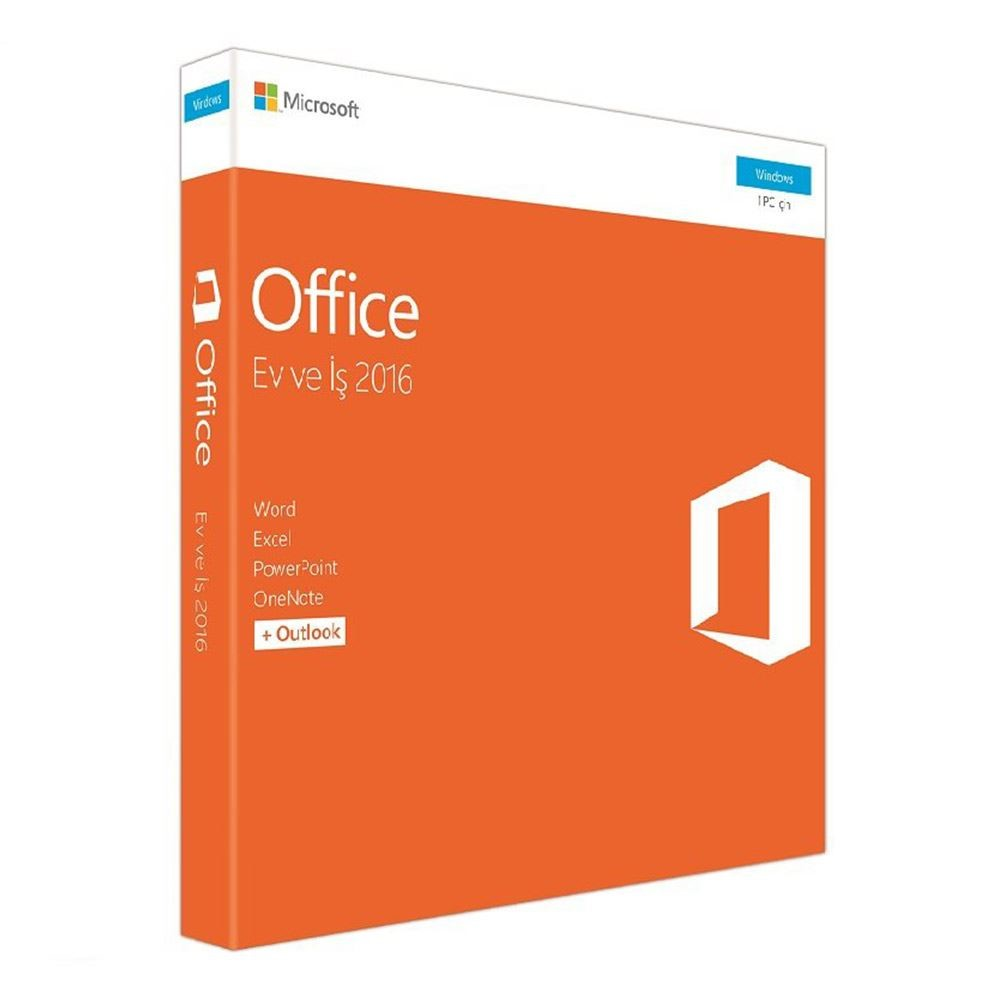 MICROSOFT 2016 OFFICE HOME&BUSINESS KUTU TR T5D-02714