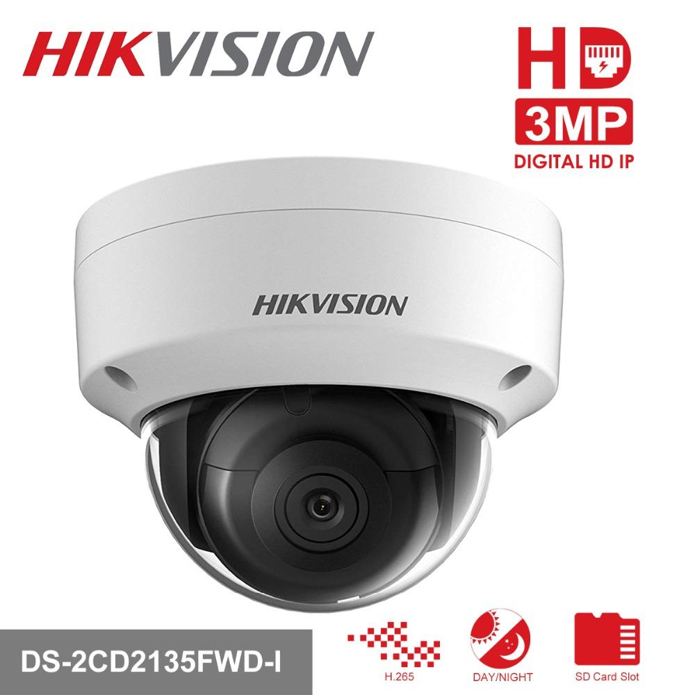 HAIKON DS-2CD2135FWD-IS 3MP 2.8MM 30MT BLC, ROI, 3D DNR IP67 - IK10 POE/ONVIF METAL KASA IP DOME KAMERA