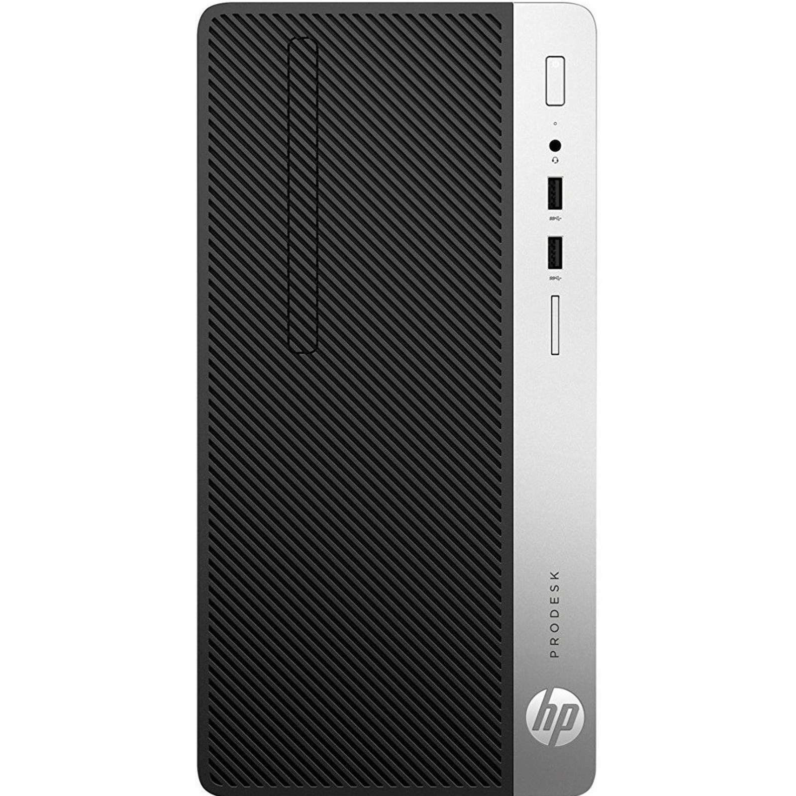HP PRODESK 400MT 1JJ87EA I5-7500 4GB 1TB O/B INTEL HD GRAPHICS 630 DVD/RW FREEDOS DESKTOP PC