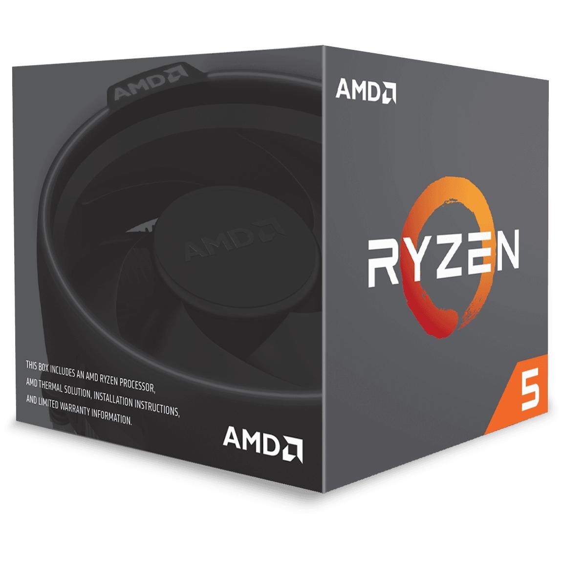 AMD RYZEN 5 1600 3.20 / 3.60 GHz 16MB AM4 İŞLEMCİ 65W