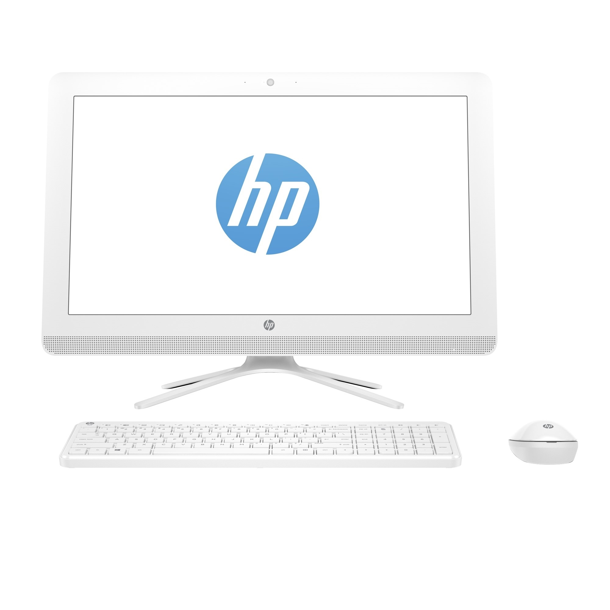 "HP 2BZ18EA 24-E008NT i3-7100U 4GB 256SSD O/B VGA 23.8"" NONTOUCH FREDOOS ALL IN ONE PC"