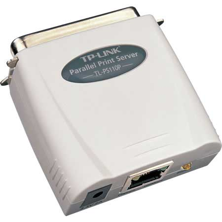 TP-LINK TL-PS110P 1XPARALEL FAST ETHERNET PRINT SERVER