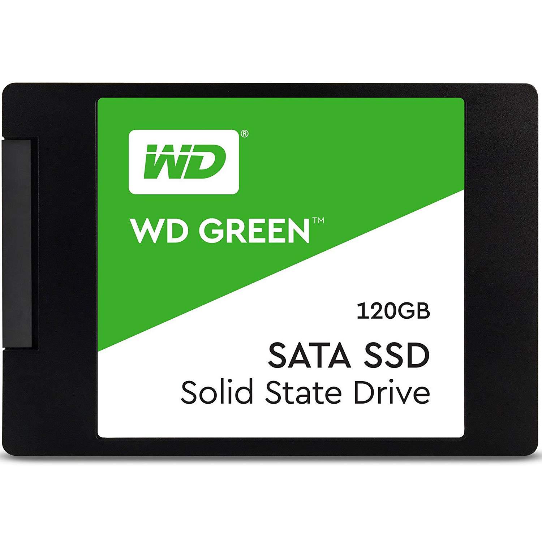 WD GREEN 120GB 545MB/s SATA 3.0 SSD WDS120G2G0A