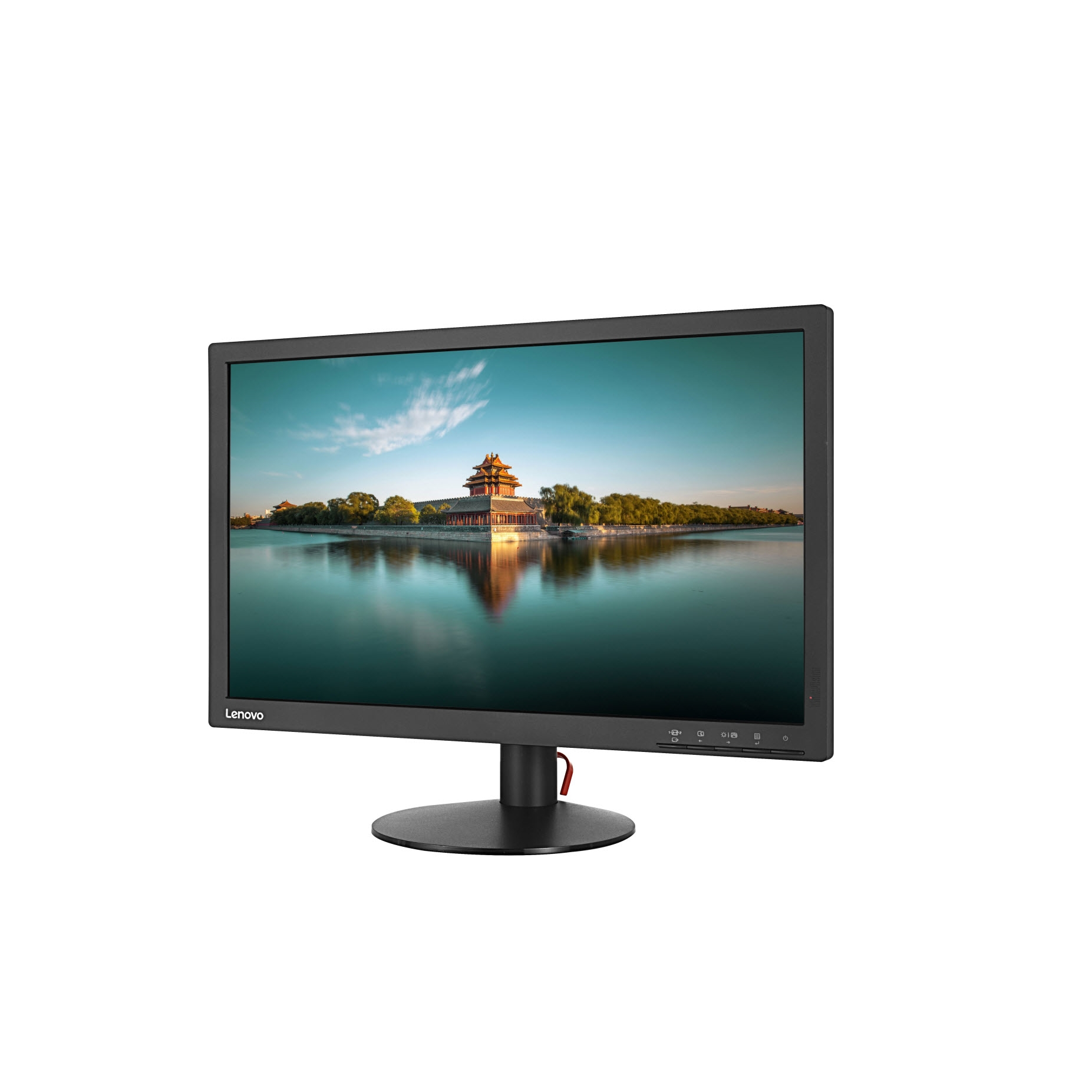 "LENOVO T2224D 61B1JAT1TK 21.5"" 7MS 1920x1080 VGA/DP FULL HD SİYAH LED MONITOR"