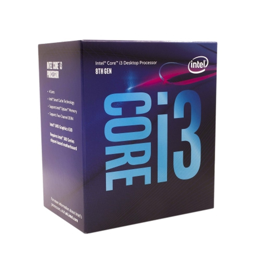 INTEL CORE I3 8100 3.60GHz 6MB 1151v2 PIN İŞLEMCİ