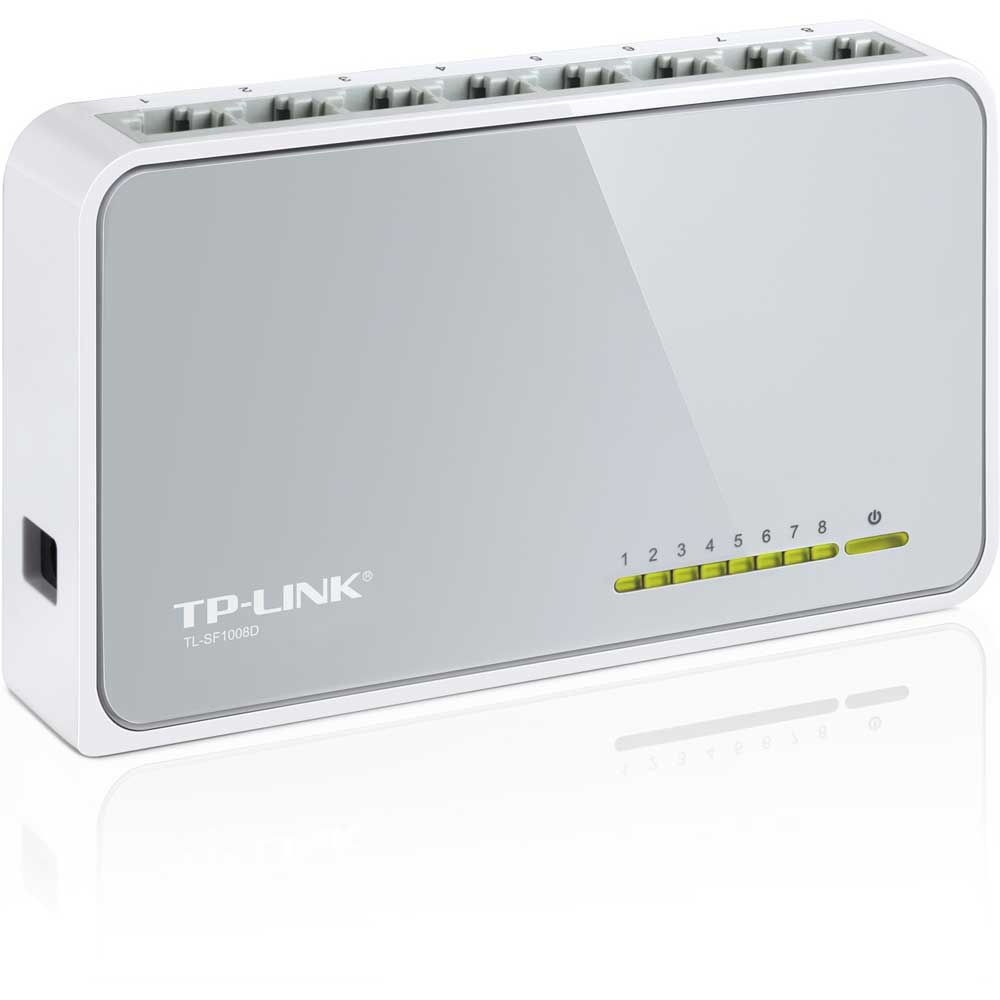 TP-LINK TL-SF1008D 8 PORT 10/100 FAST ETHERNET DESKTOP SWITCH