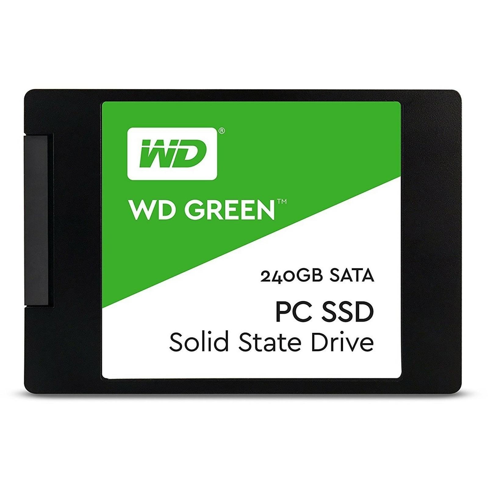 WD GREEN 240GB 545/465MB/s SATA 3.0 SSD WDS240G2G0A