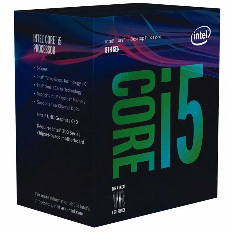 INTEL CORE I5 8400 2.80GHz 9mb 1151v2 PIN İŞLEMCİ