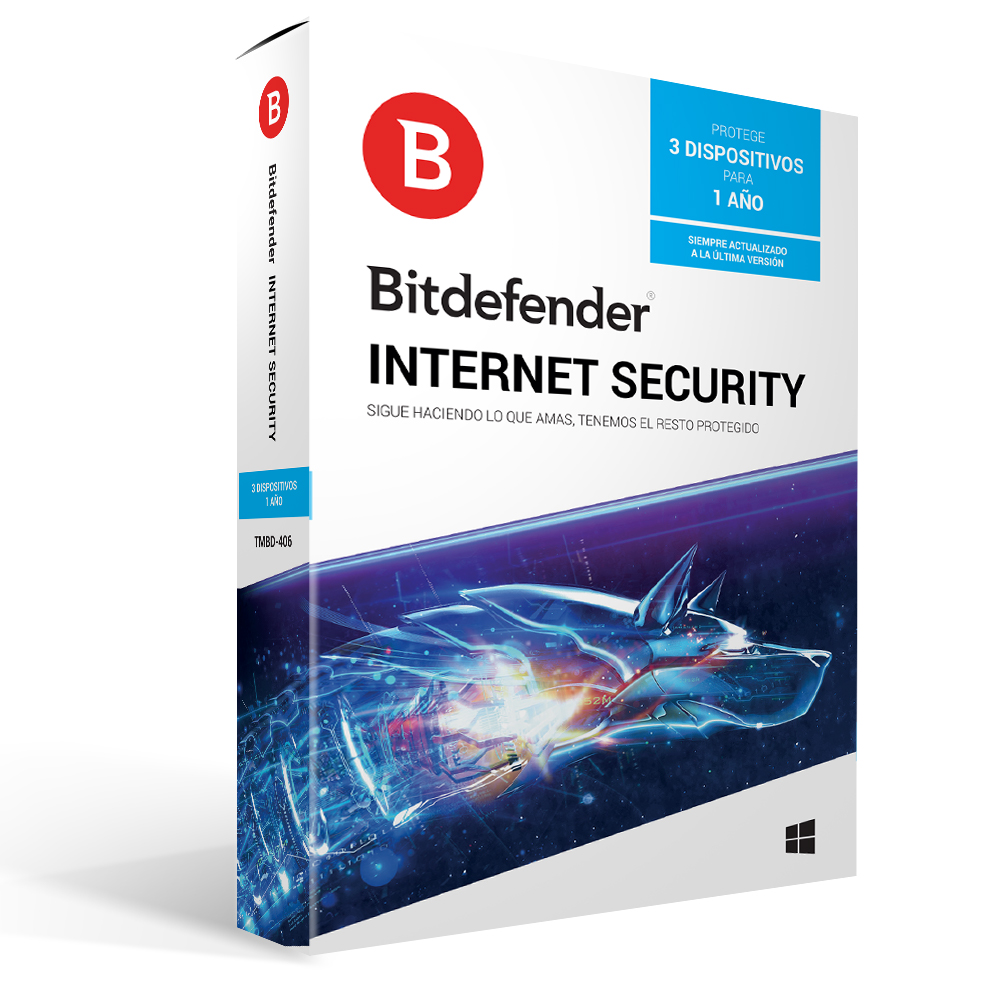 BITDEFENDER INTERNET SECURITY 2019 10 KULLANICI 1 YIL