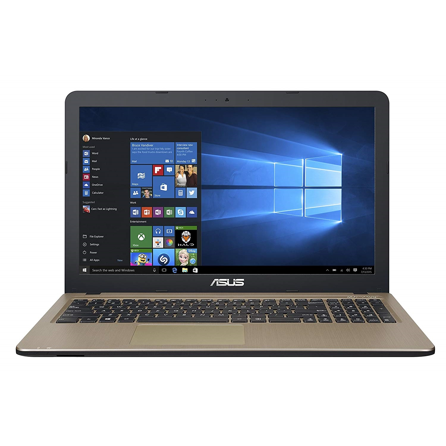 "ASUS X540UB-GQ359 I5-8250U 4GB 1TB 2GB MX110 15.6"" FREEDOS NOTEBOOK"