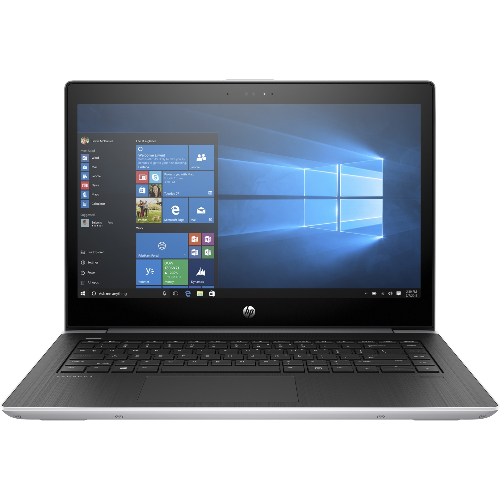"HP PROBOOK 440 3DN94ES I7-8550 8GB 256GB SSD O/B VGA 14"" FREEDOS NOTEBOOK"