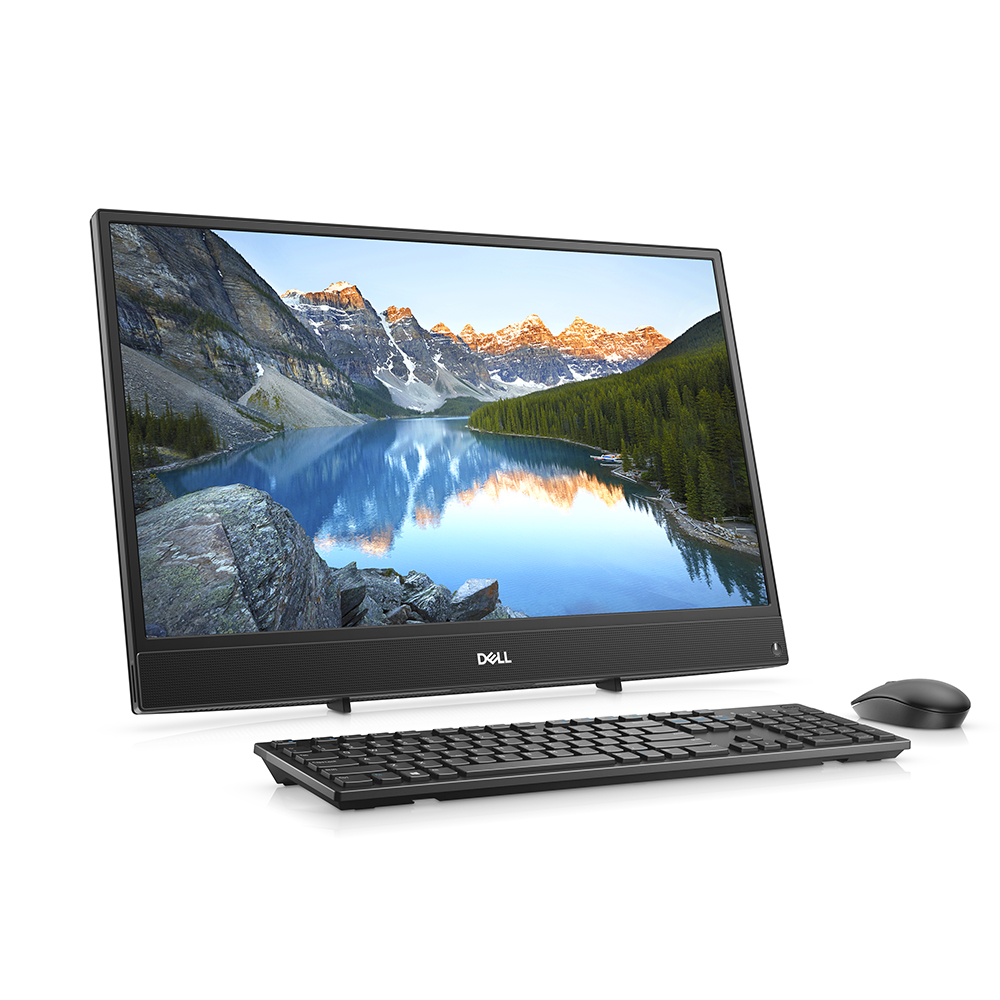 "DELL INSPIRON 3480-FB26D256WP81C i5-8265U 8GB 256SSD+1TB 2GB MX110 23.8"" FHD NONTOUCH WIN10 PRO SIYAH ALL IN ONE"