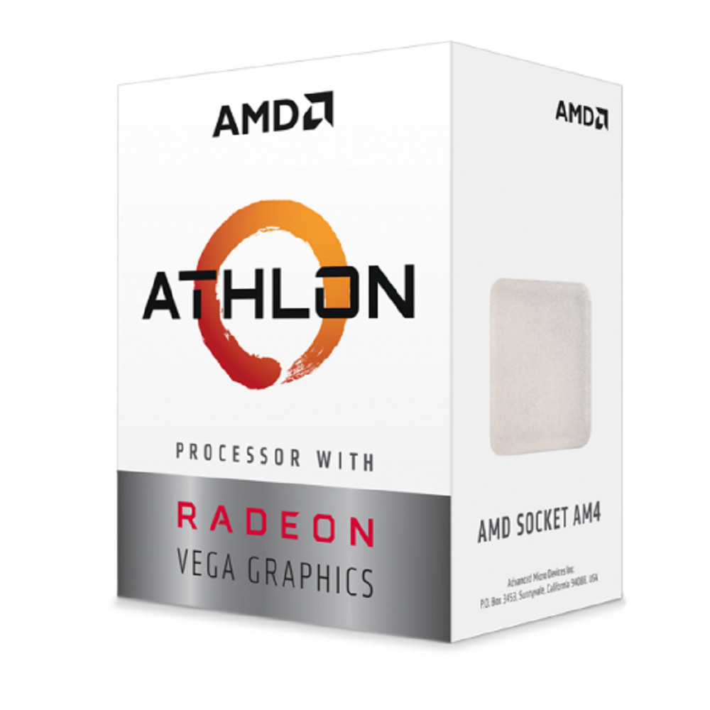 AMD ATHLON 200GE 3.20GHZ 4MB RADEON VEGA3 AM4 İŞLEMCİ