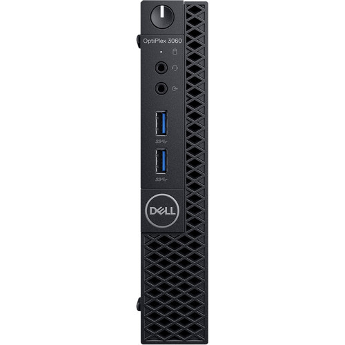 DELL OPTIPLEX 3060MFF N002O3060MFF_UBU I3-8100T 4GB 500GB O/B VGA LINUX PC