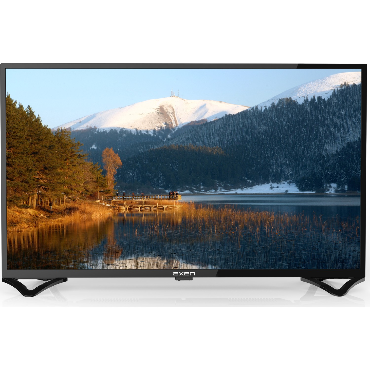 "AXEN AX40DAB010 40"" FULL HD LED UYDU ALICILI TV"