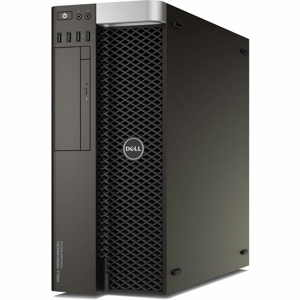 DELL PRECISION T5820_W-2104 Xeon W-2104 3.2GHz 16GB (2x8GB) 500GB+240GB SSD 2GB QUADRO P400 WIN10 PRO WORKSTATION