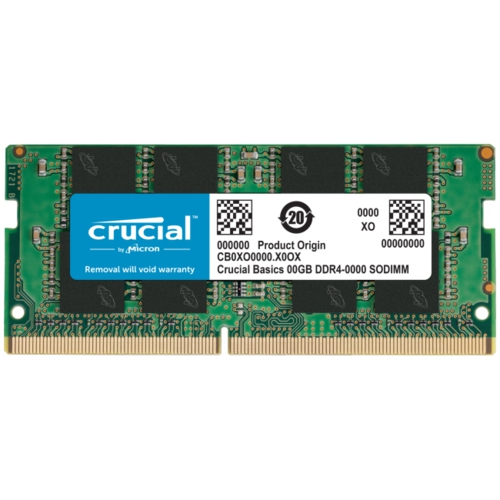 CRUCIAL 8GB 2400MHz DDR4 CB8GS2400 NOTEBOOK RAM
