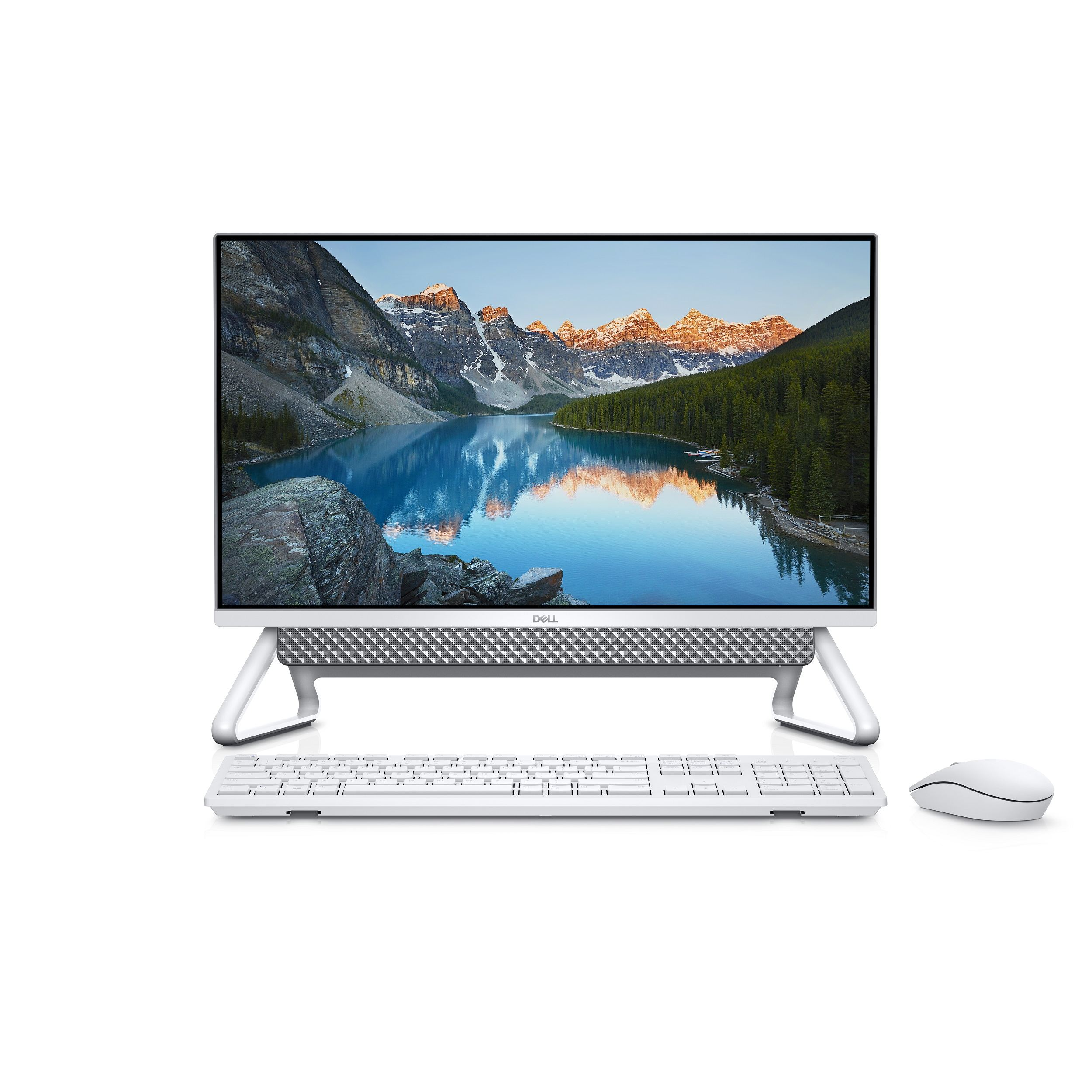 "DELL 5490-S210D256WP81C I5-10210U 8GB 256SSD+1TB 2GB MX110 23.8"" FHD NONTOUCH WIN10 PRO GÜMÜŞ ALL IN ONE PC"