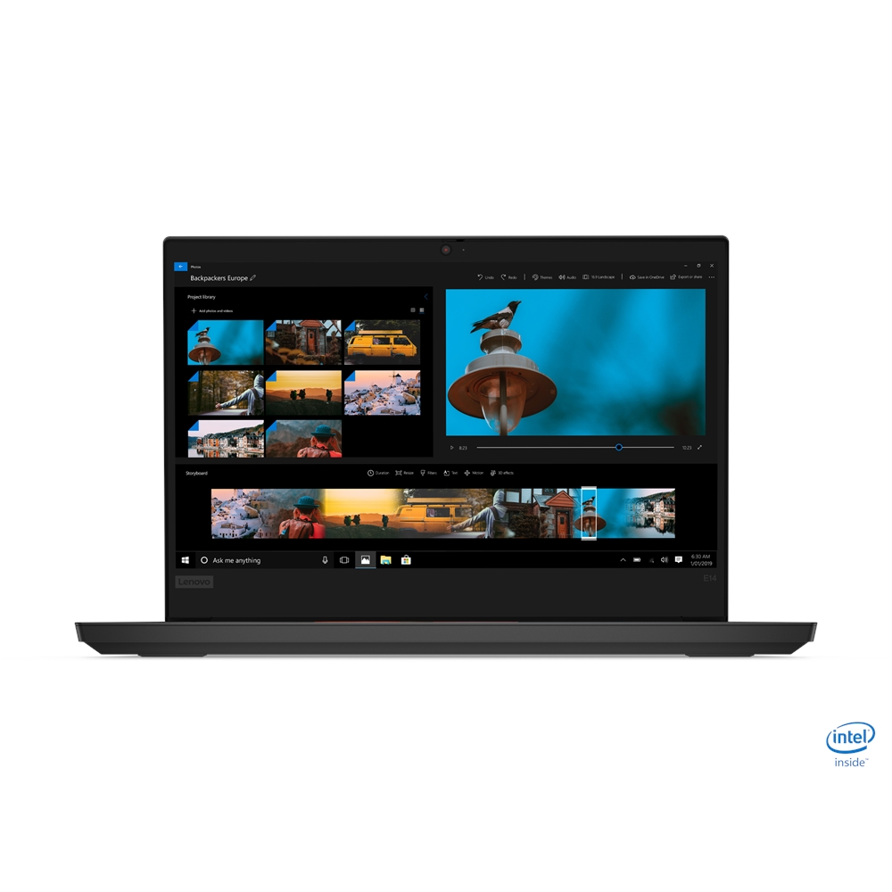 "LENOVO E15 20RDS03700 I7-10510U 16GB 512GB SSD 2GB AMD RX640 15.6"" FREEDOS NOTEBOOK"