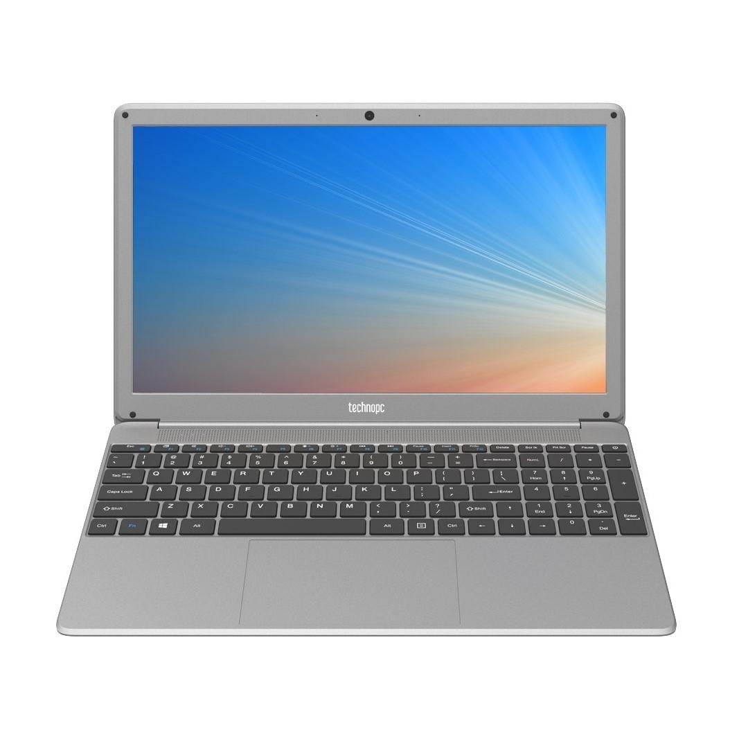 """TECHNOPC AUROBOOK T15S-156 I5-5257U 8GB 256GB SSD O/B VGA 15.6"""" FHD FREEDOS SILVER NOTEBOOK"""