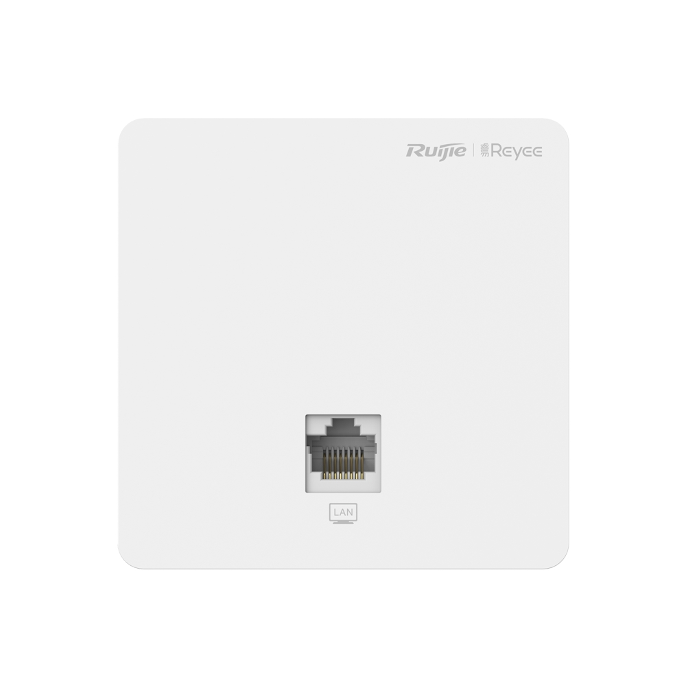 RUIJIE REYEE RG-RAP1200(F) AC1300 2PORT 2x2MIMO 2.4 GHZ & 5 GHZ POE ADAPTORSUZ INDOOR/WALL MOUNT ACCESS POINT