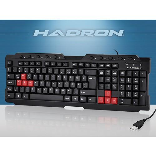 HADRON HD833 MULTIMEDYA SİYAH USB TR GAMING KLAVYE