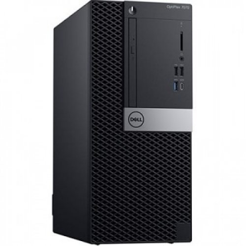 DELL OPTIPLEX 7070MT N004O7070MT_UBU I5-9500 8GB 256GB SSD O/B VGA DVD/RW FREEDOS PC