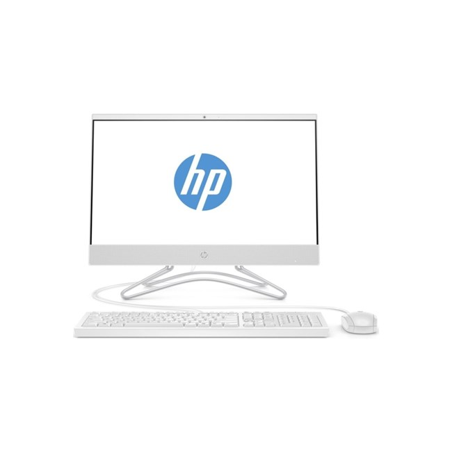 """HP 205R1ES 200 G4 I5-10210U 8GB 256GB SSD O/B 21.5"""" FREEDOS BEYAZ ALL IN ONE PC"""
