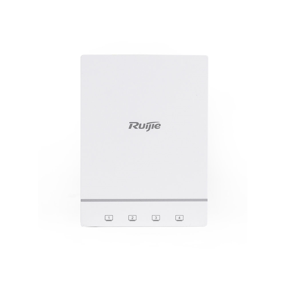 RUIJIE RG-AP180 1167MBPS 4PORT 2x2MIMO 2.4 GHZ & 5 GHZ INDOOR/WALL MOUNT ACCESS POINT