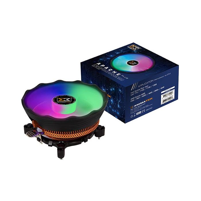 XIGMATEK APACHE PLUS EN42296 AMD/INTEL 120MM ARGB İŞLEMCİ SOGUTUCUSU