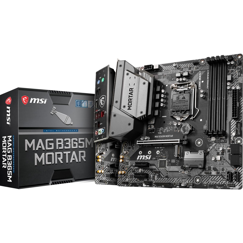 MSI MAG B365M MORTAR B365 4xDDR4 HDMI 1xGLAN 1xM.2 1151Pin ANAKART