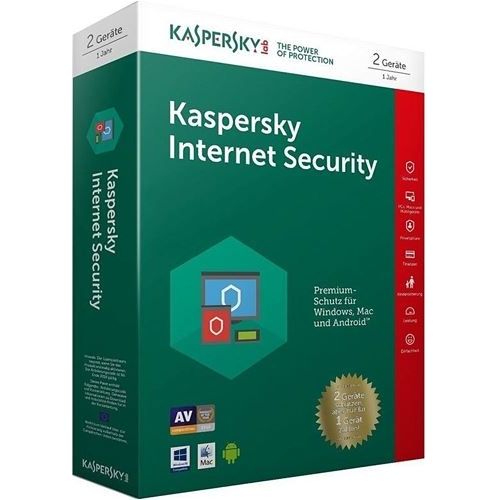 KASPERSKY INTERNET SECURITY 2 KULLANICI 1 YIL