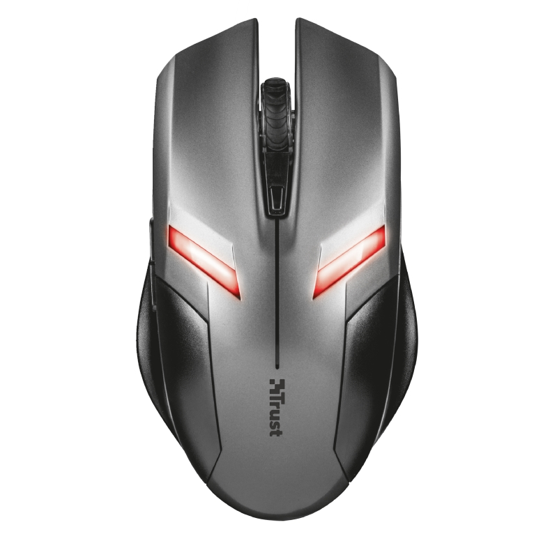 TRUST ZIVA 21512 USB 2000DPI SİYAH 6 BUTTONS GAMING MOUSE
