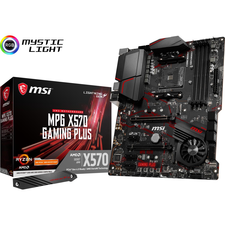 MSI MPG X570 GAMING PLUS DDR4 HDMI 2xM.2 1xGLAN USB3.1 AM4 ANAKART