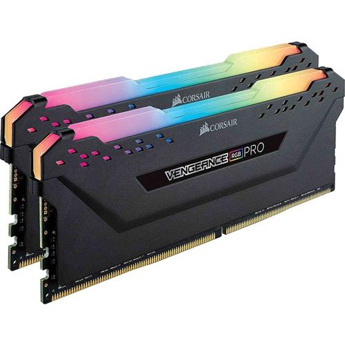 CORSAIR 16GB (2x8GB) 3200MHZ DDR4 VENGEANCE RGB PRO CMW16GX4M2C3200C16 PC RAM