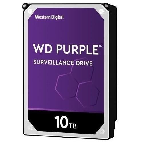 WD PURPLE 10TB 7200RPM 256MB SATA3 6Gbit/sn WD102PURX 7/24 HDD