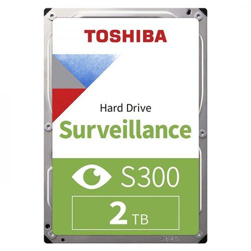 TOSHIBA S300 2TB 5400RPM 128MB SATA3 6Gbit/sn HDWT720UZSVA HDD