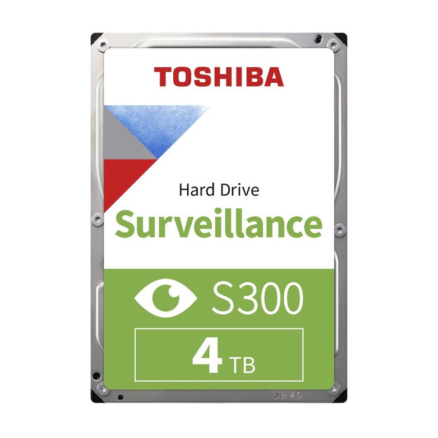 TOSHIBA S300 4TB 5400RPM 256MB SATA3 6Gbit/sn HDWT840UZSVA HDD