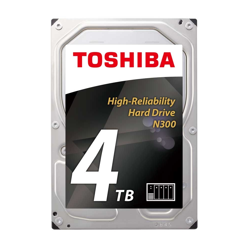 TOSHIBA N300 4TB 7200RPM 128MB SATA3 6Gbit/sn HDWQ140UZSVA NAS HDD