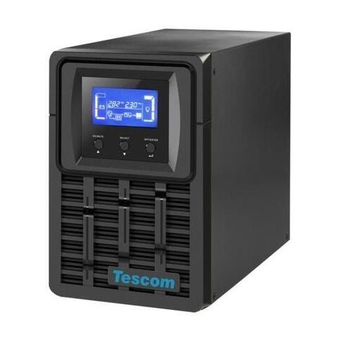 TESCOM TEOS 1KVA 5-10DK 2x12V/9AH 1F/1F ONLİNE UPS 900040340