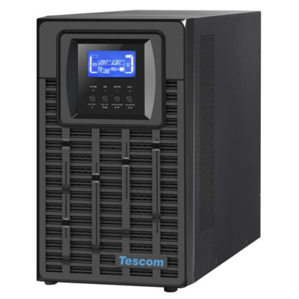 TESCOM TEOS 6KVA 5-10DK 16x12V/7AH 1F/1F ONLİNE UPS 900040345