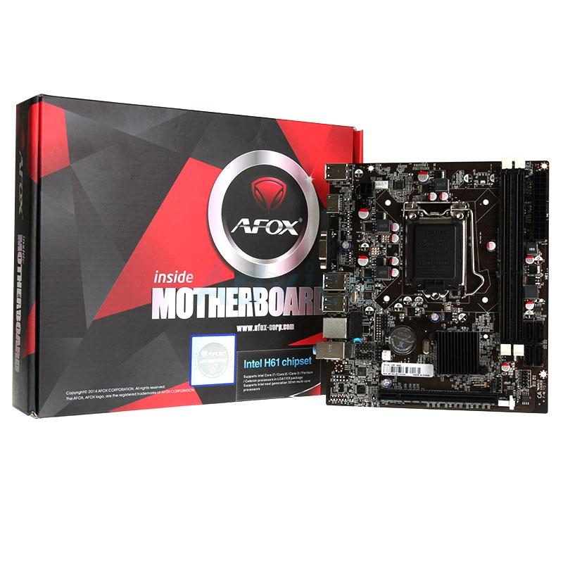 AFOX IH61-MA7 H61 DDR3 VGA USB 2.0 16X 1xPCI-E 1155 PIN ANAKART