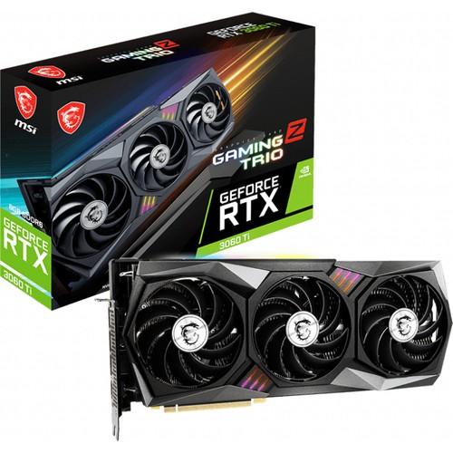 MSI RTX3060TI GAMING Z TRIO 8G LHR 8GB GDDR6 256Bit 3xDP/1xHDMI PCI-E 4.0 DX12